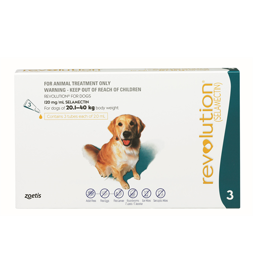 Revolution Large Dog 20-40kg